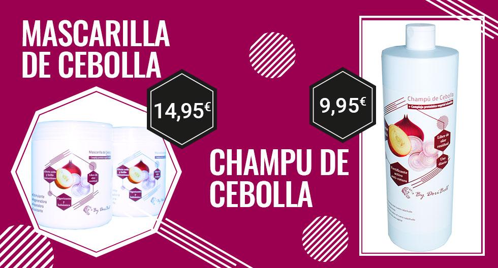 Champú y Mascarilla de Cebolla