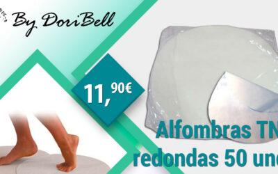 Alfombras TNT Redondas 50 Unds.