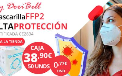 Caja 50 Mascarillas FFP2 Certificada CE2834
