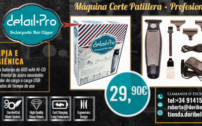 Máquina de Corte Patillera DetailPro