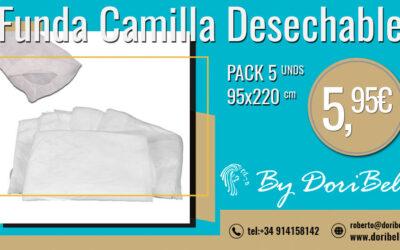 Pack 5 Fundas Camilla Ajustable 95×220