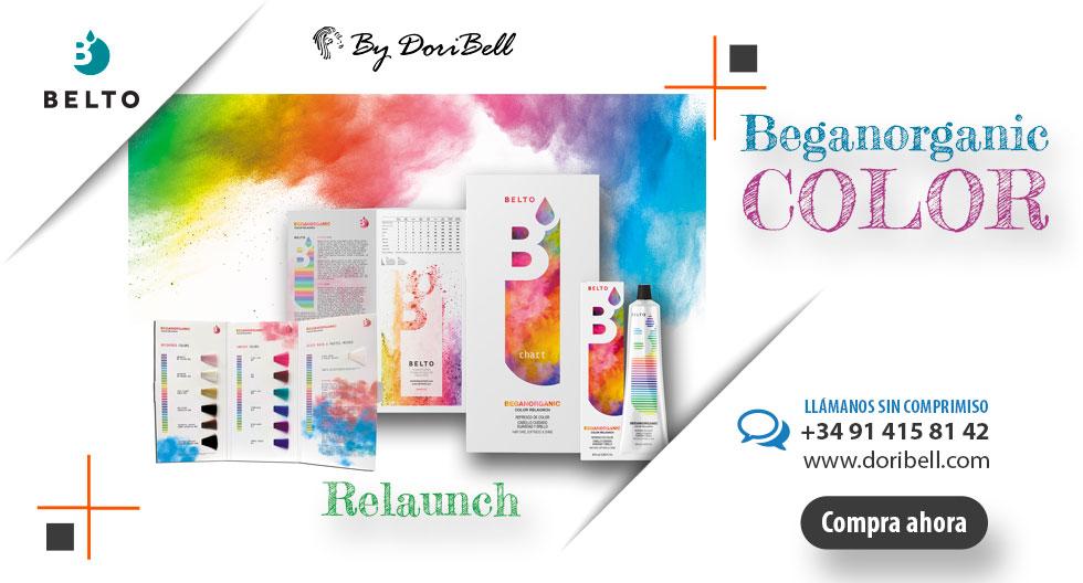 Beganorganic Color Relaunch