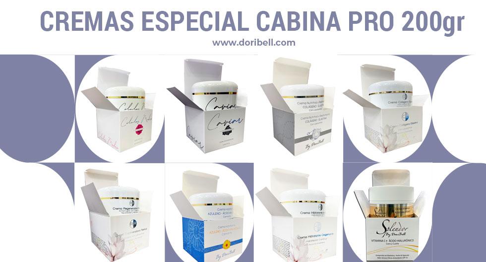 Cremas PRO Uso en Cabina 200gr.