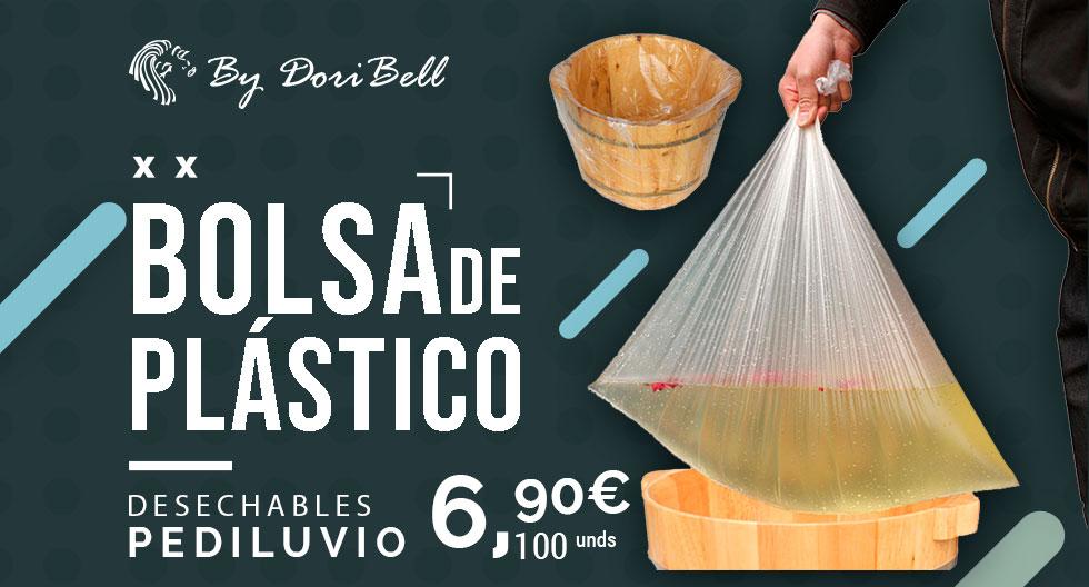Bolsa Plástico Transparente Desechable Pediluvio