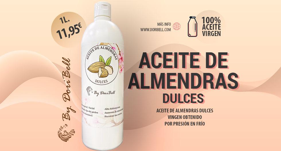 Aceite de Almendras Dulces 1L.
